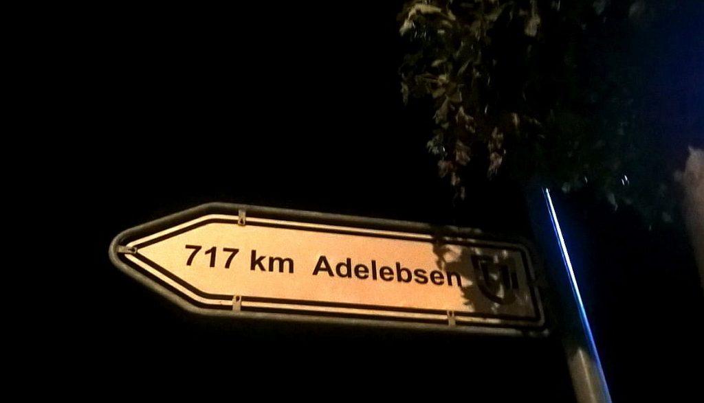 717km bis Adelebsen